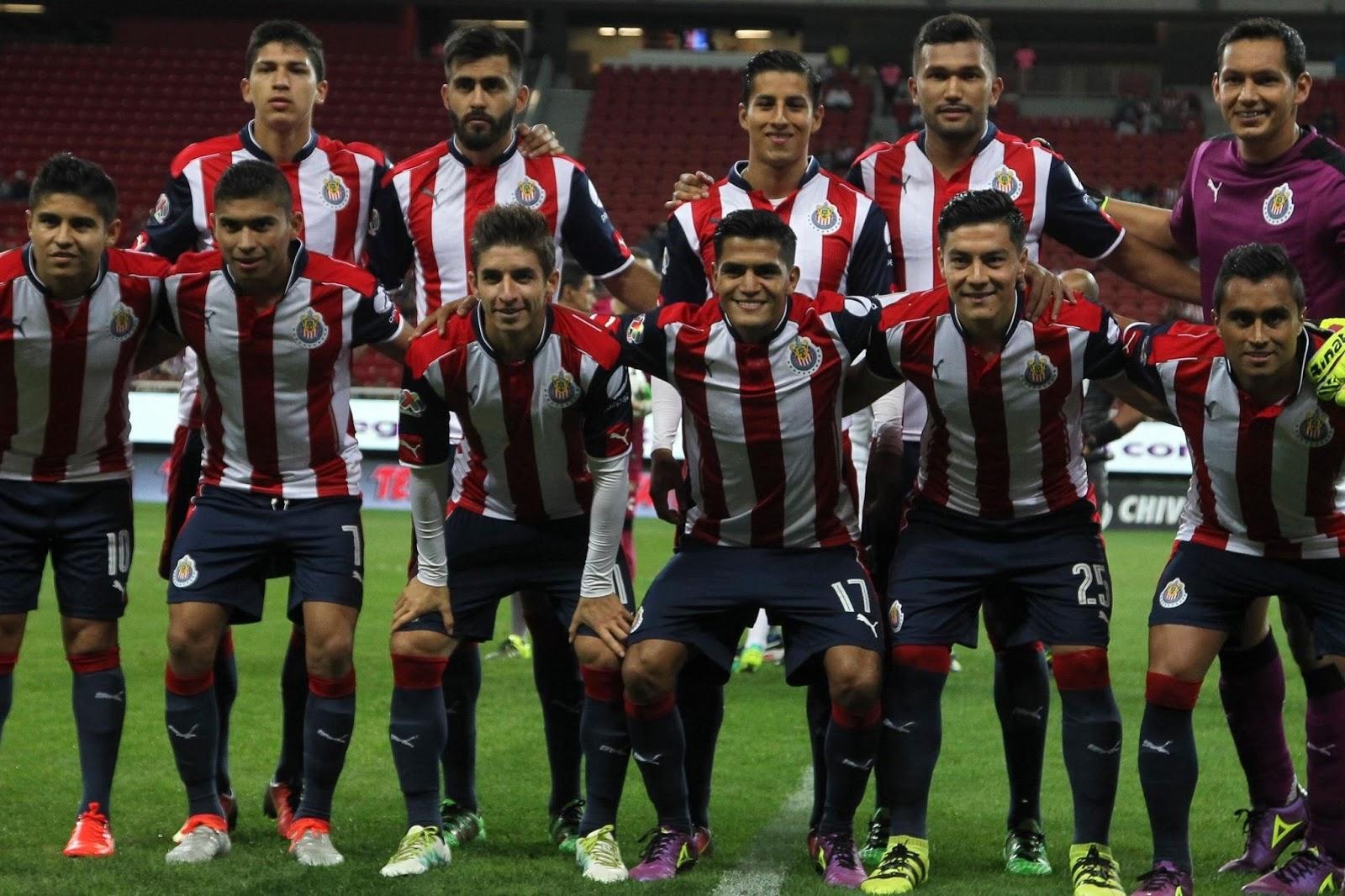 La plantilla del Guadalajara.