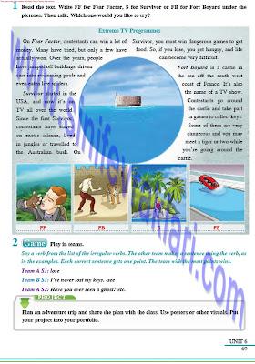 8. Sınıf İngilizce Tutku Yayınları Ders Kitabı Cevapları Sayfa 69