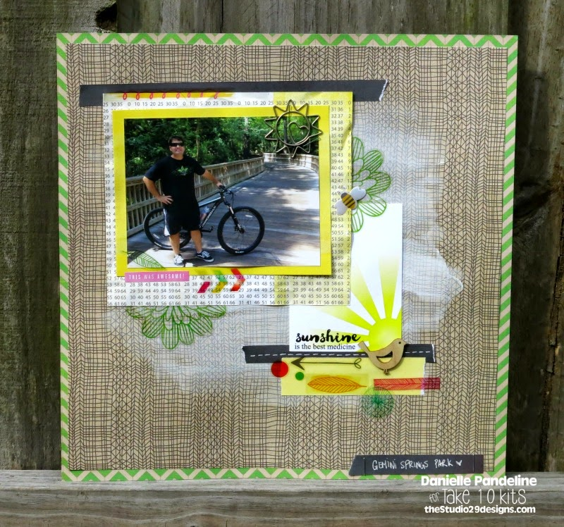Sunshine Is the Best Medicine | Featuring Studio 29 Designs | Created by Danielle Pandeline