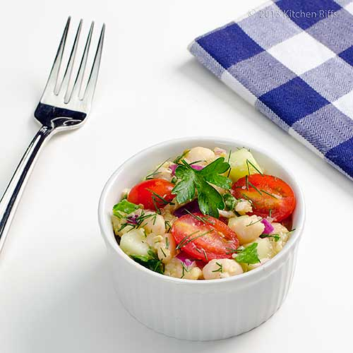 White Bean and Quinoa Salad