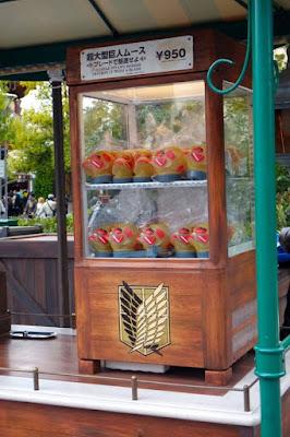 Attack on Titan Snack at Universal Studios Japan Osaka