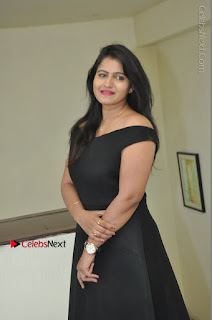 Telugu Actress Swathi Reddy Latest Stills in Black Gown  0048.JPG