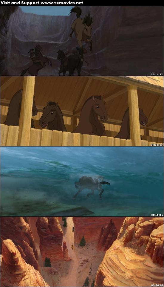 Spirit Stallion of the Cimarron 2002 Dual Audio Hindi 720p BluRay