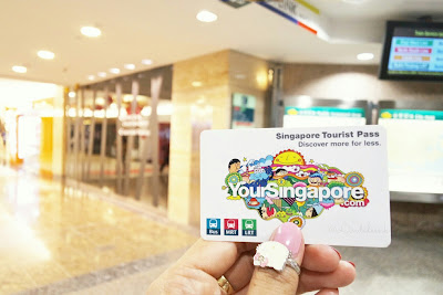 Singapore Tourist Pass Card