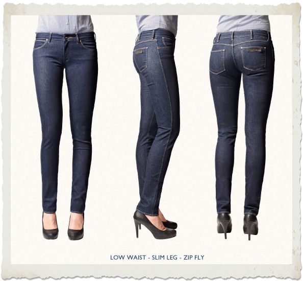 jeans cosmetici Wrangler modello courtney