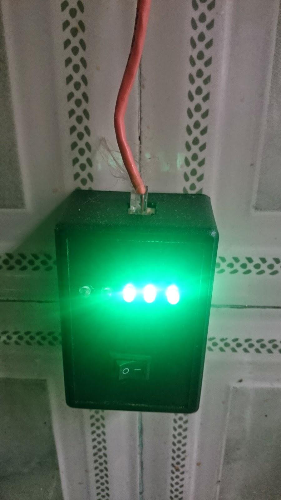 قياس مستوى الماء الموجود في الخزان Water level sensor for tank