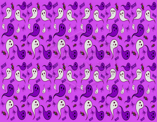 Halloween-purple-ghost-pattern-design-by-yamy-morrell
