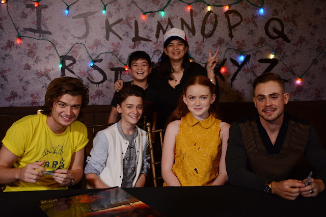 Stranger Things Cast at AsiaPOP