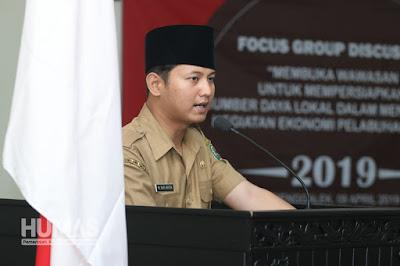Plt Bupati Nur Arifin Buka Focus Group Discussion Terkait Pelabuhan Prigi