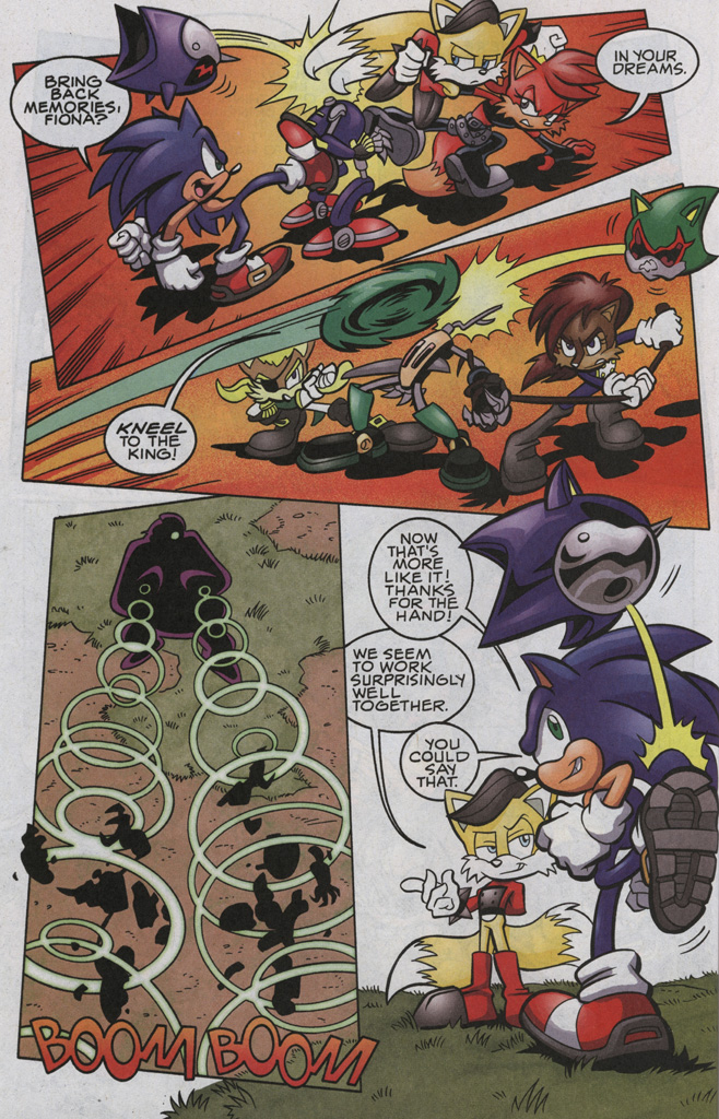 Read online Sonic The Hedgehog comic -  Issue #192 - 17
