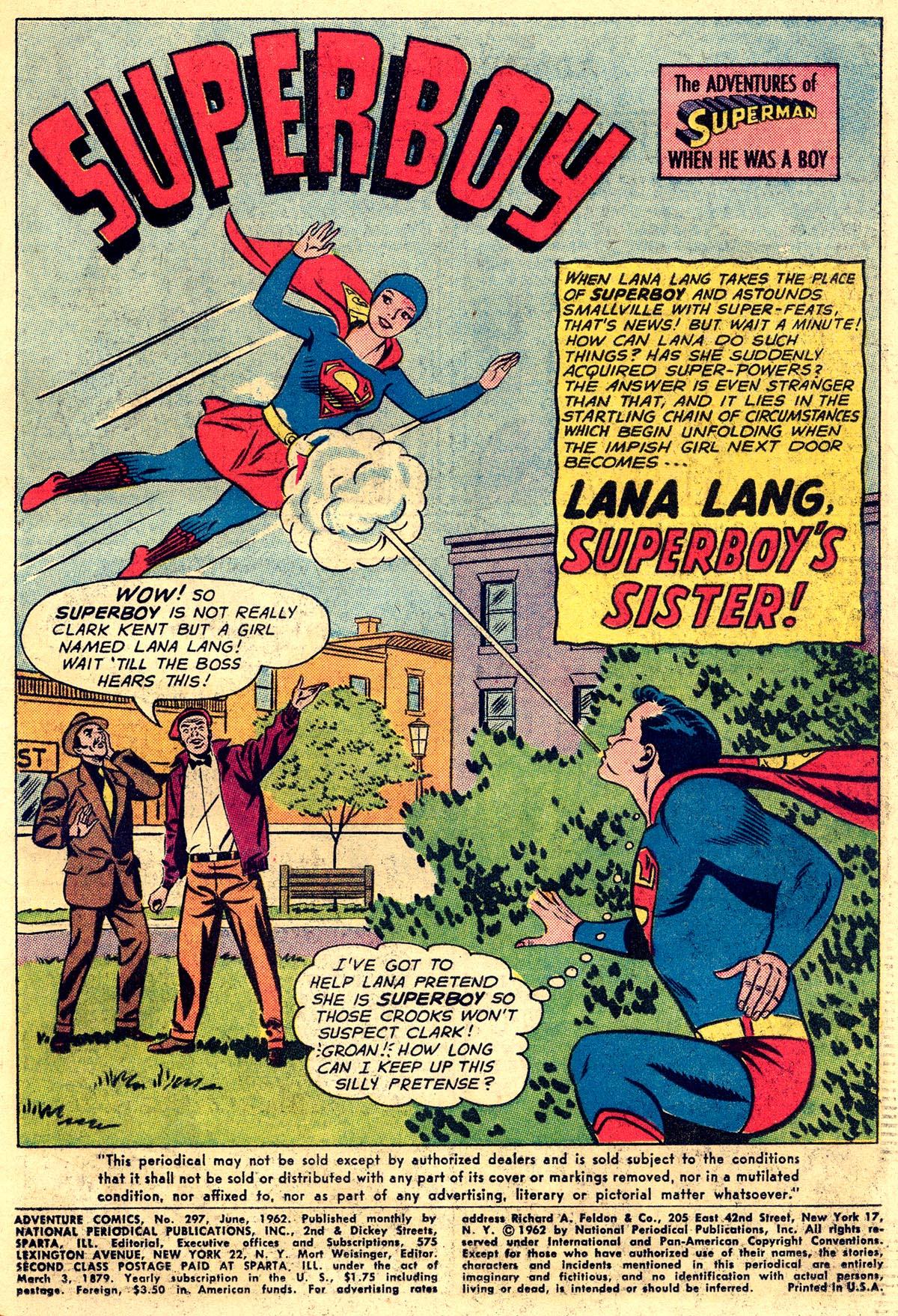 Read online Adventure Comics (1938) comic -  Issue #297 - 3