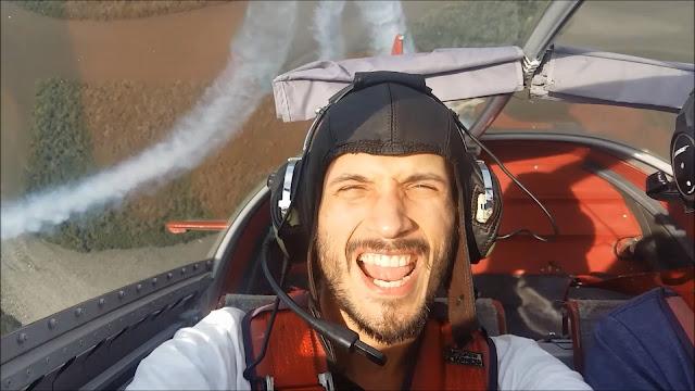 Primer piloto sordo de aviación en Brasil, João Paulo