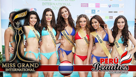 MGI 2015 Swimsuit Competition at Trat - The first round of official competition.