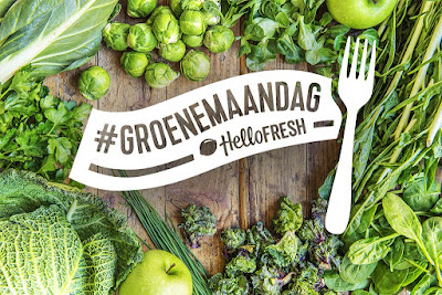 Hello Fresh Box - #Groenemaandag