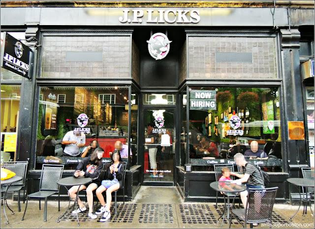 Ruta por las Heladerías: J.P. Licks