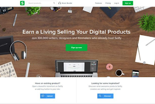 Sell Digital Products at Sellfy online
