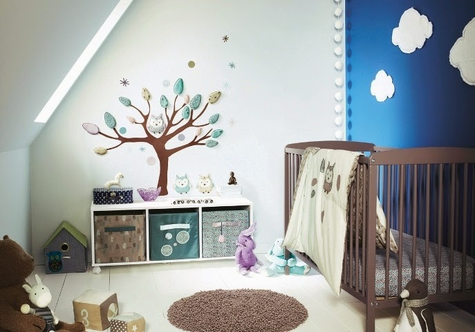 baby rooms wall paint ideas