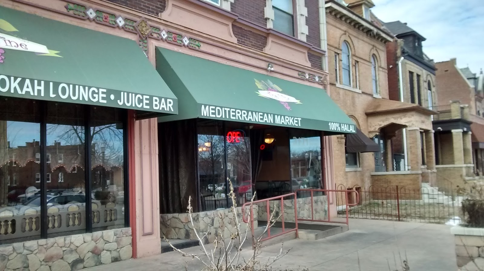 The Vine Mediterranean Cafe and Market - Revisited February 2016 ...