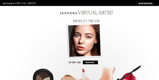 Memilih Warna Lipstick Yang Cocok Dengan Sephora Virtual Artist
