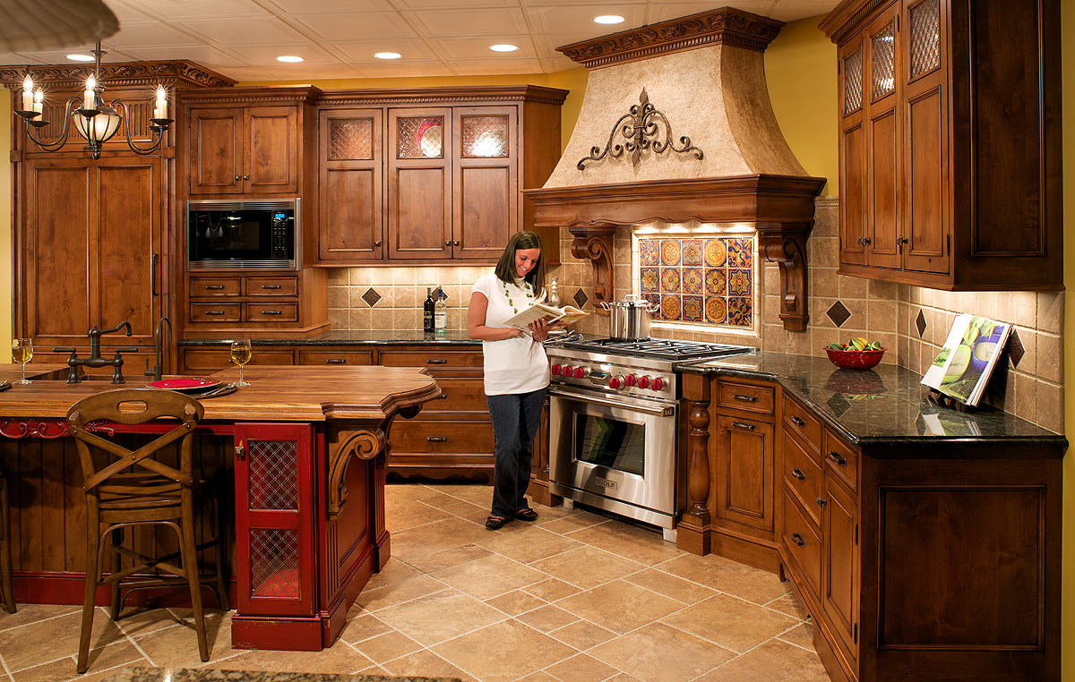 Awesome Tuscan Kitchen Design Ideas