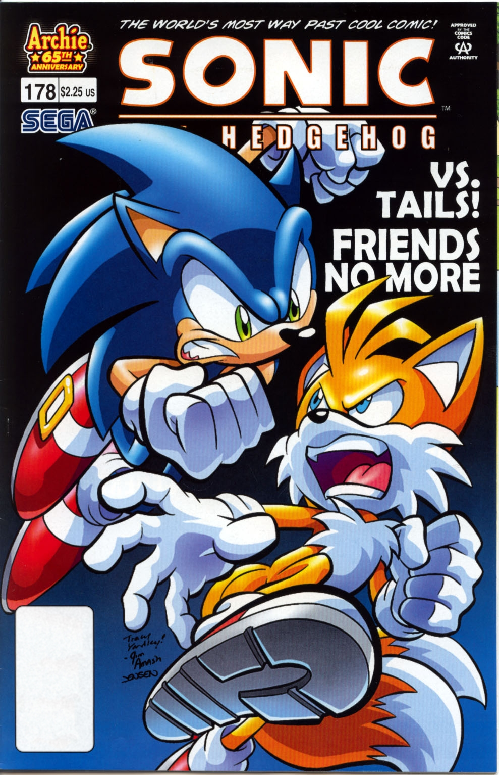 Read online Sonic The Hedgehog comic -  Issue #178 - 1