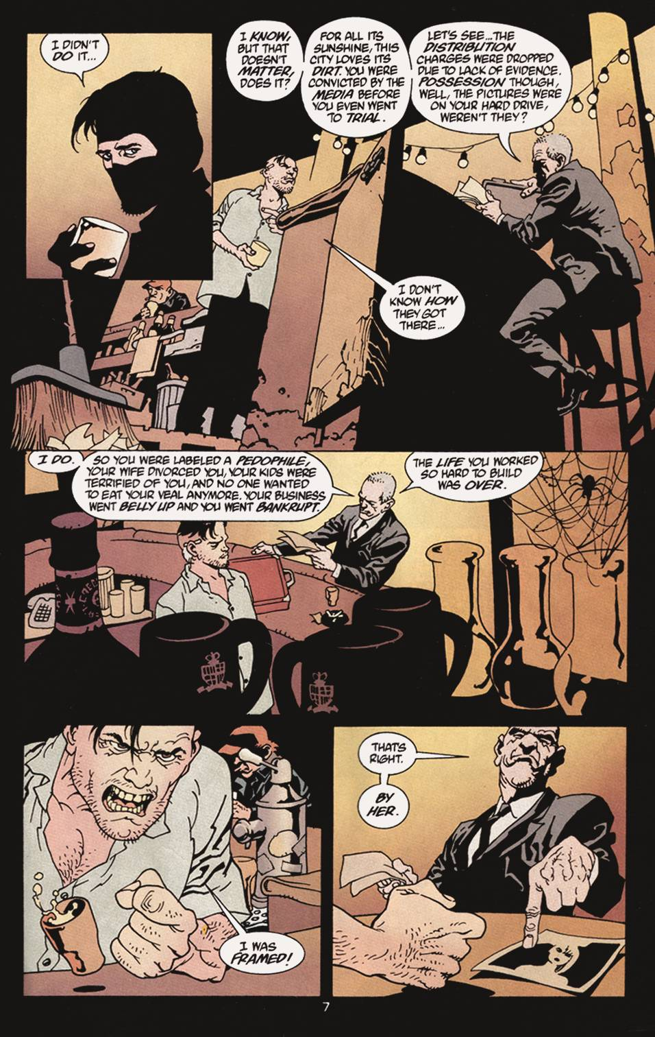 Read online 100 Bullets comic -  Issue #4 - 8