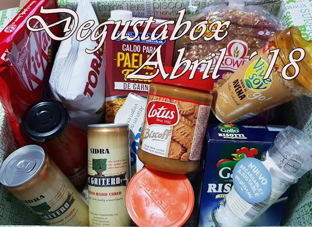 Degustabox Abril ´18 - Especial Aniversario