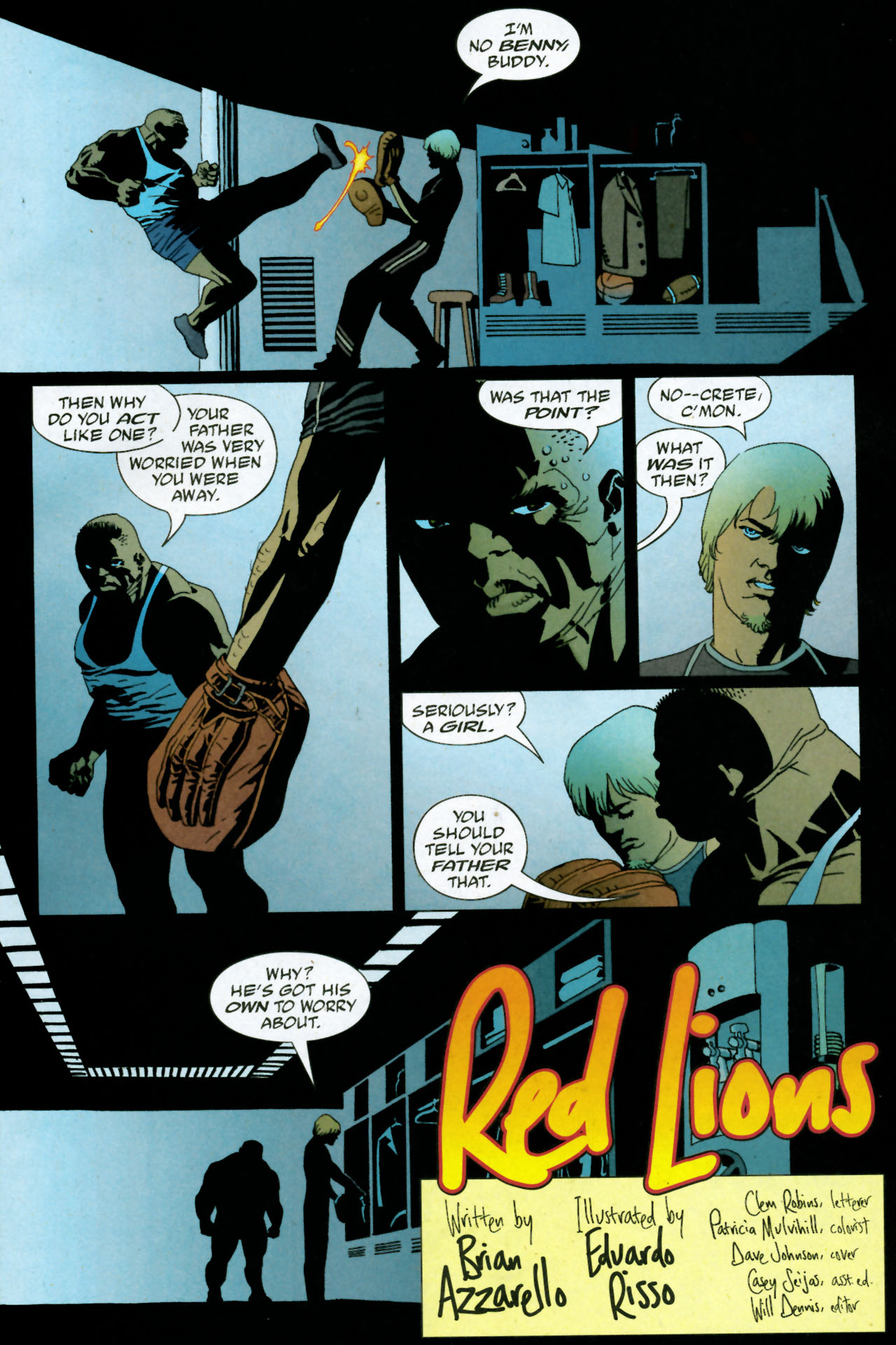 Read online 100 Bullets comic -  Issue #85 - 4
