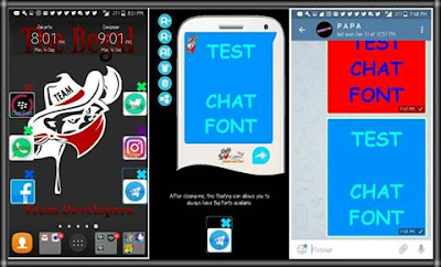 TEXT COLOR CHAT & STATUS FOR APPS BY BEGAL