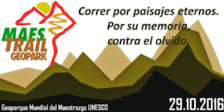geopark maestrail trail geoparque mundial unesco maestrazgo octubre teruel