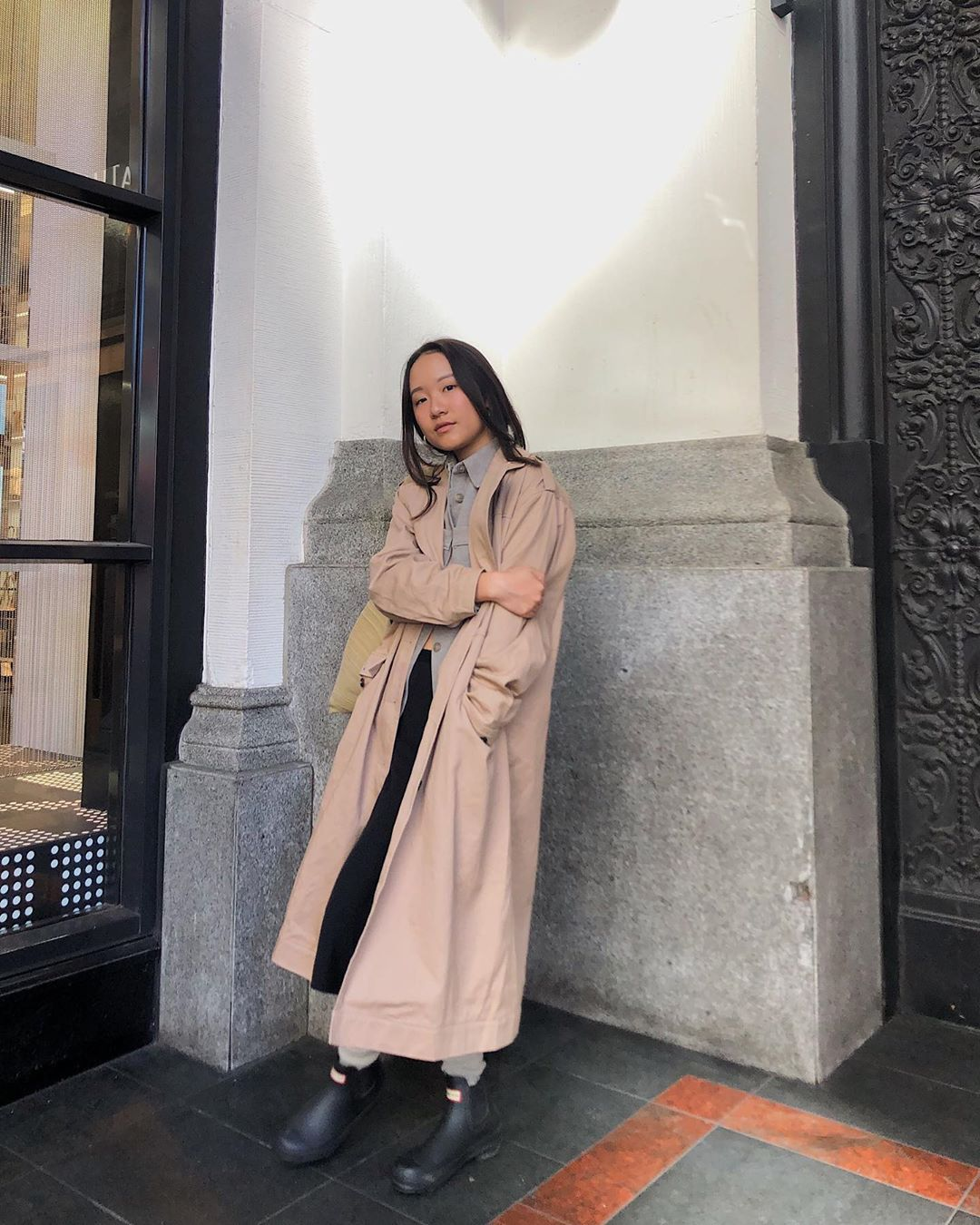 A Classic Trench Coat is Always in Style