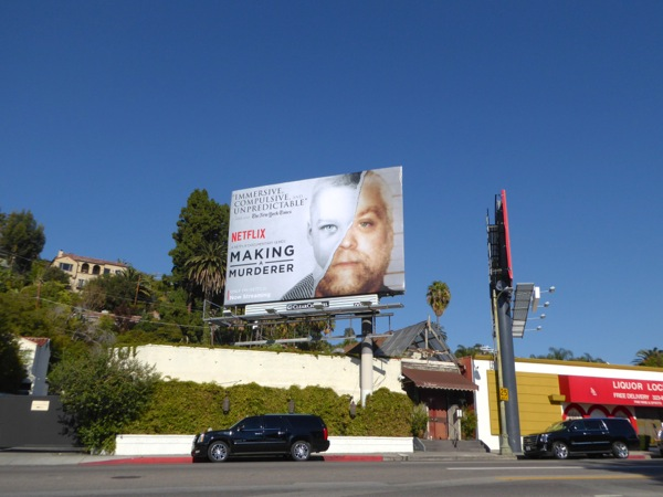 Making a Murderer Netflix billboard
