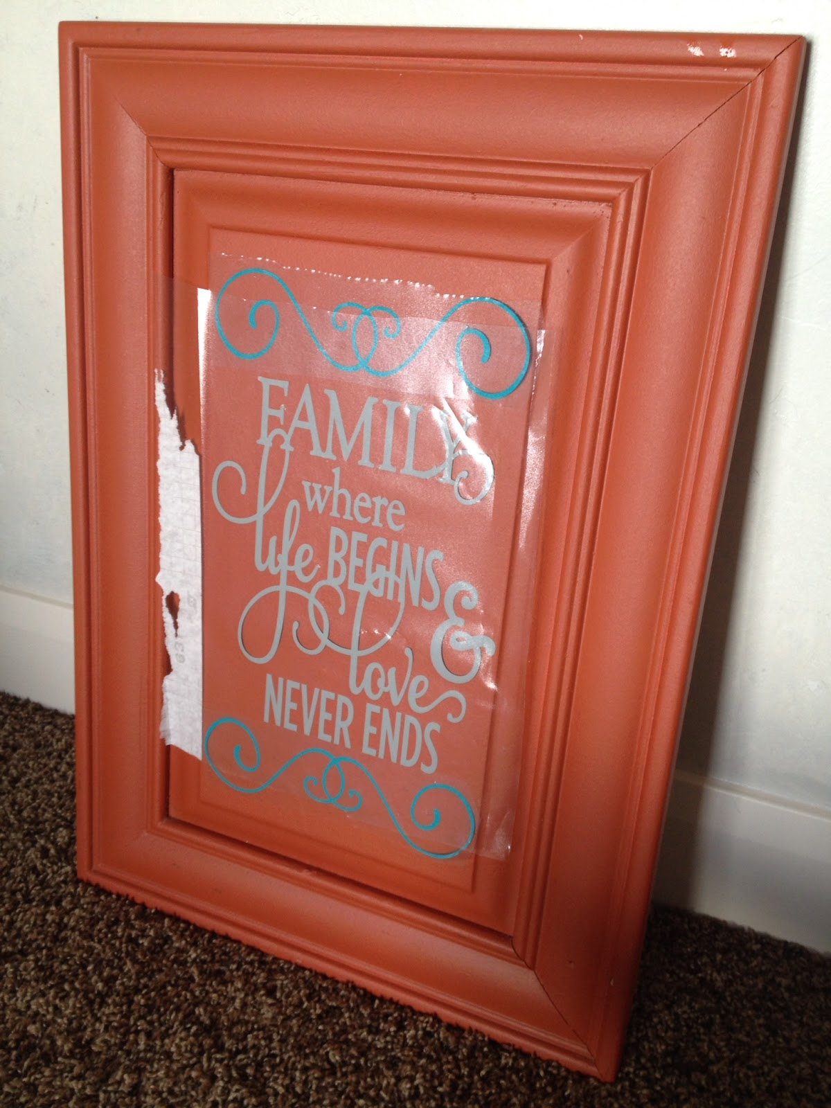 DIY Old Cabinet Door Upcycle to Family Room Wall Art Plus ...