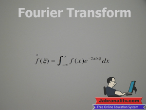 Top 10 Mathematical Equations That Changed The World-Fourier-Transform