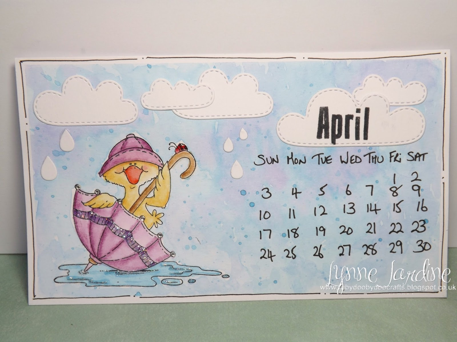 Tiny Tim April Showers Little Girl