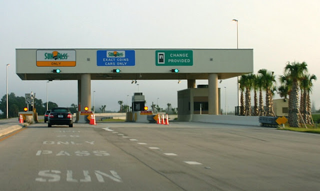Pedágios nas estradas dos Estado Unidos