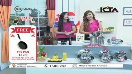 Frekuensi siaran Home Shopping  Live di satelit Palapa D Terbaru