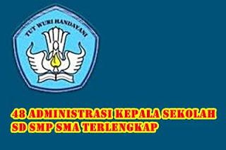 48 Contoh Format Administrasi Kepala Sekolah SD SMP SMA Terbaik dan Lengkap