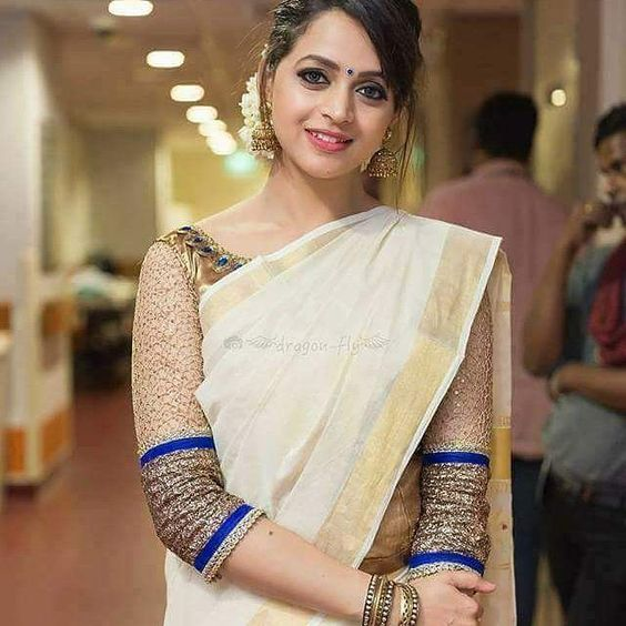 e9eea71e9d457 ... 35 Gorgeous Kerala Saree Blouse Designs to try this year Styling