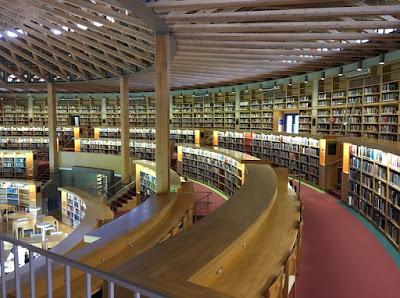 国際教養大学中嶋記念図書館