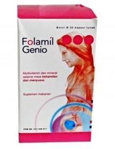Harga Folamil Genio Terbaru 2017 Suplemen Ibu Hamil