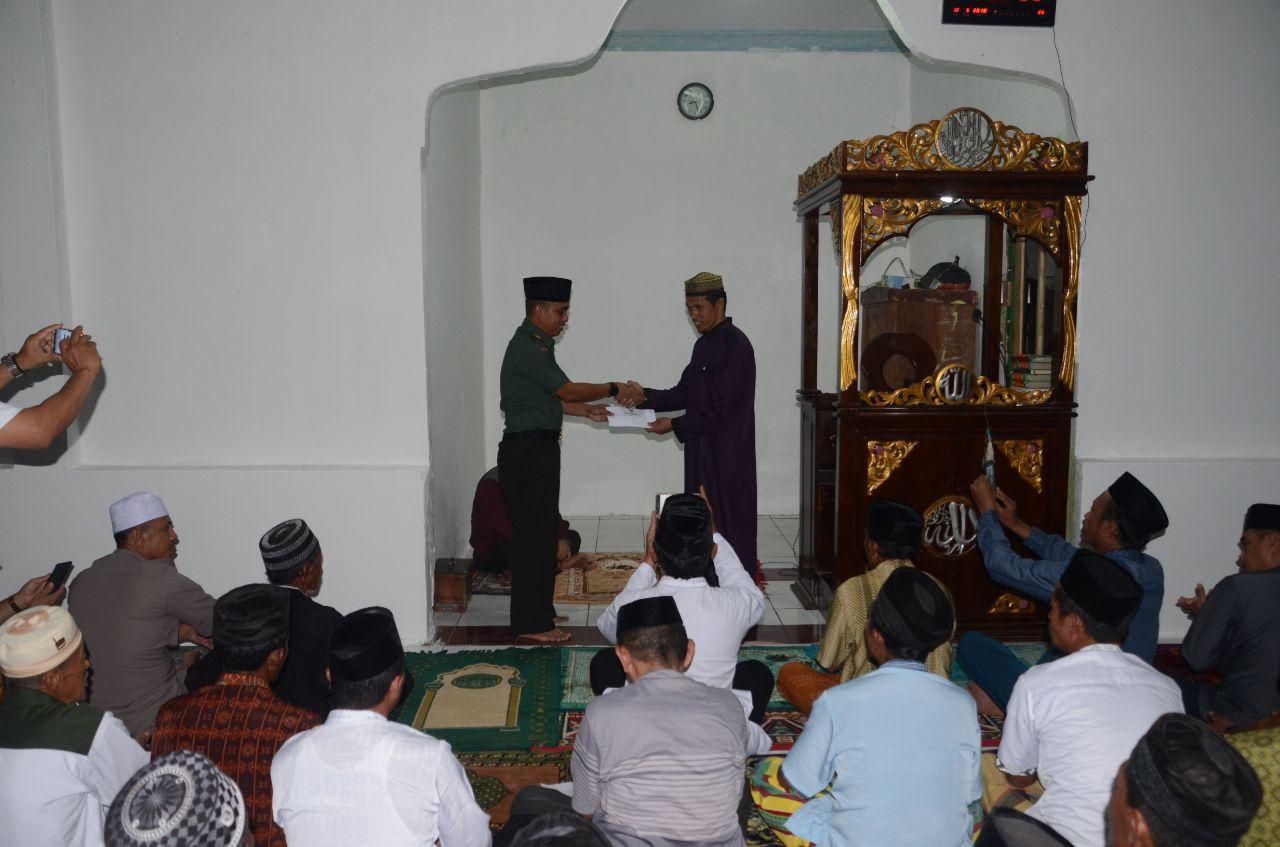 Diketuai Dandim 1407/Bone, Tim V Safari Ramadhan di Bontocani