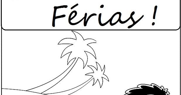 Blog Jonathan Cruz: Desenho Para Colorir Nas Férias