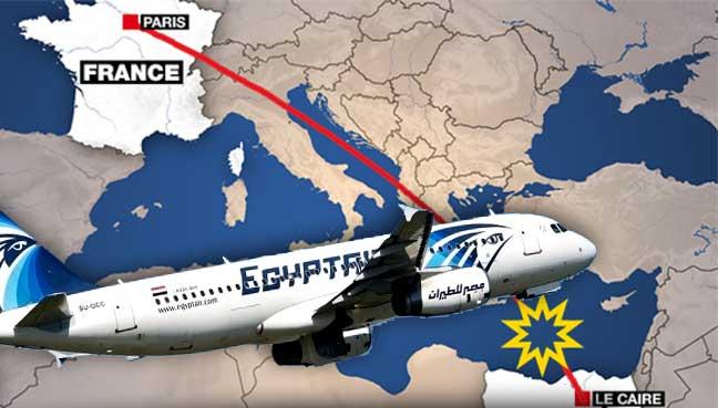 Nahas EgyptAir: Serpihan Pesawat Didakwa Ditemui Di Pulau Crete
