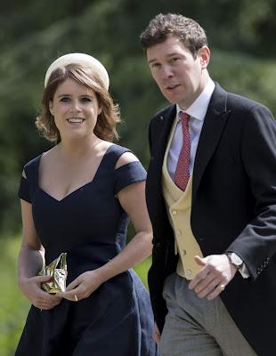 Royal Wedding Alert: Heavy winds disturb guest at Princess Eugenie's wedding