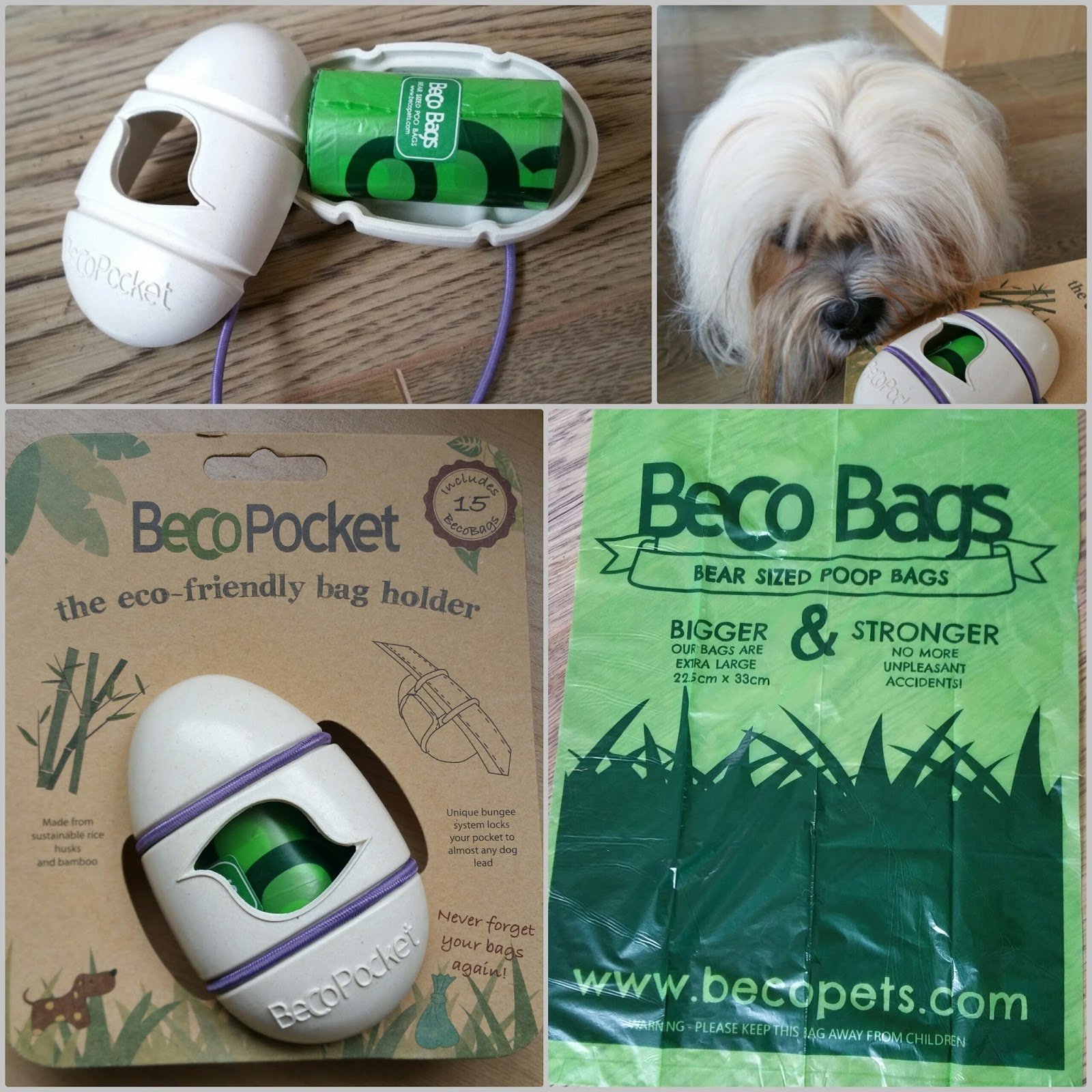 Amazing To Test Out The Beco Pocket A Uniquely Designed Poop Bag Holder That Comes With Starter Supply Of Bags We Were More Than Happy Oblige