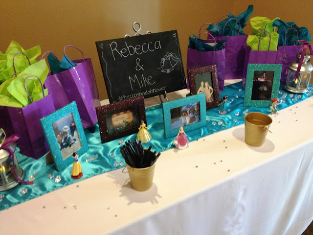 Aladdin Themed Bridal Shower