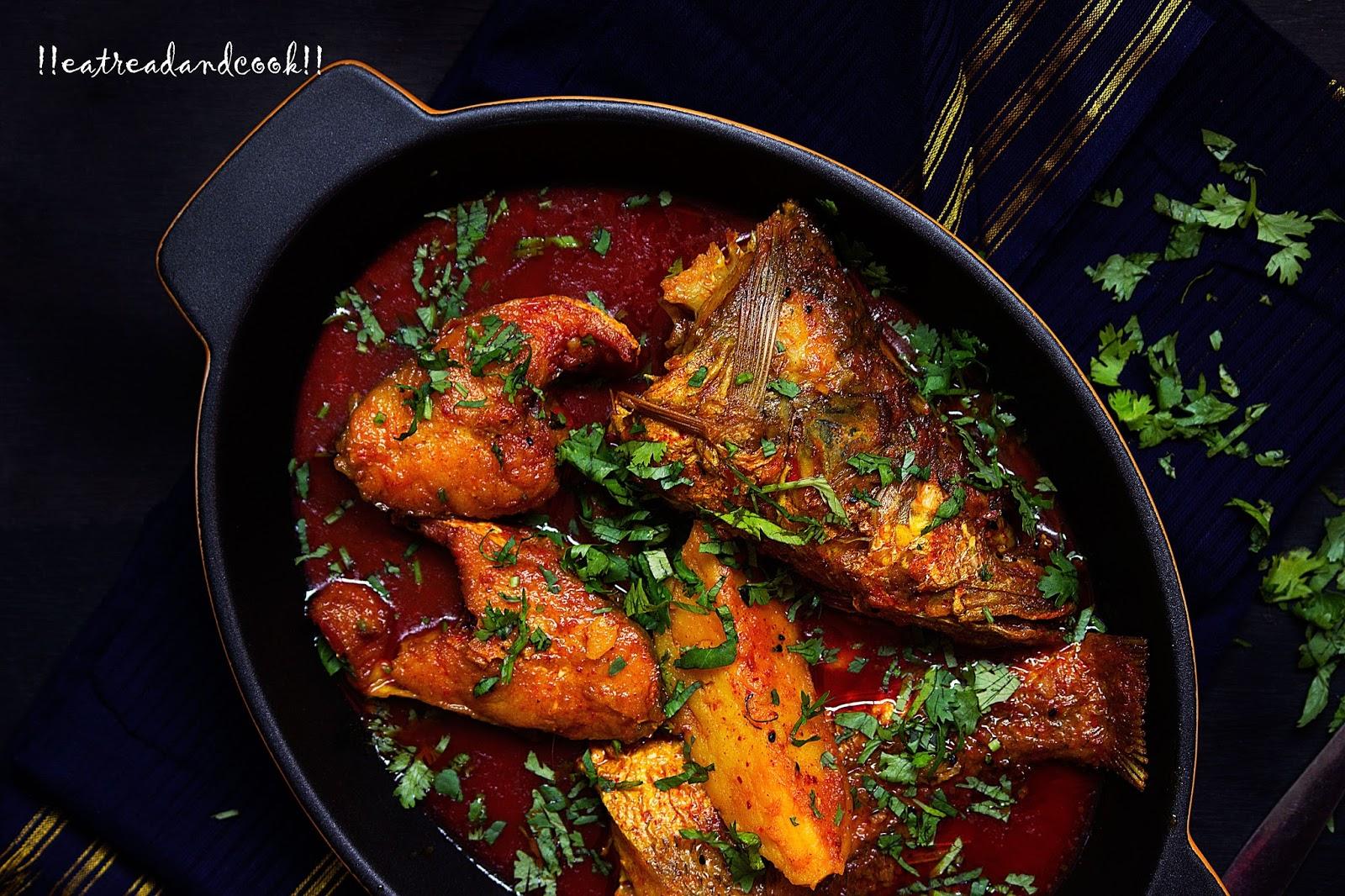 Kalo jeera die macher jhal bengali spicy fish curry with nigella bengali fish curry preparation bengali spicy macher jhal recipe ccuart Image collections