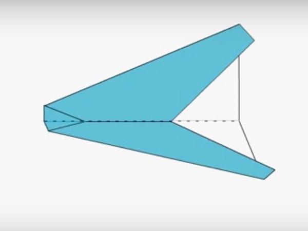 Cách gấp, xếp máy bay tiêm kích bằng giấy origami