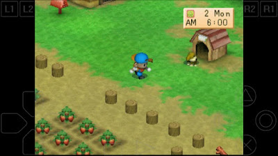 Gameplay Harvest Moon di Android